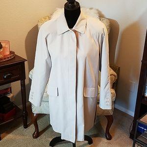 Ann Klein rain coat